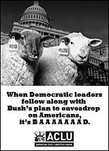 ACLU Reid/Pelosi sheep ad