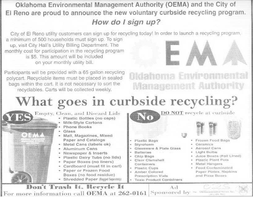 Is this recycling program a scam, or what?