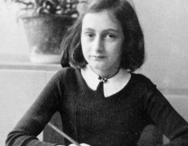 Justin Bieber gets Anne Frank