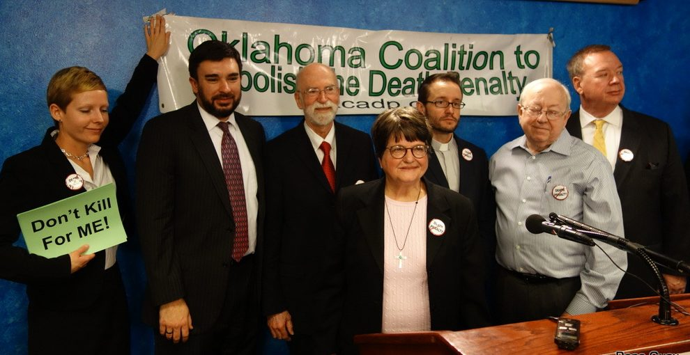 Sister Helen Prejean at OK-CADP press conference